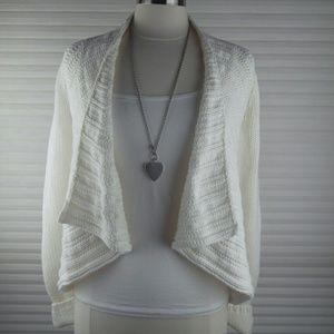 Express Open Chunky Knit Cardigan Sweater Sz XS